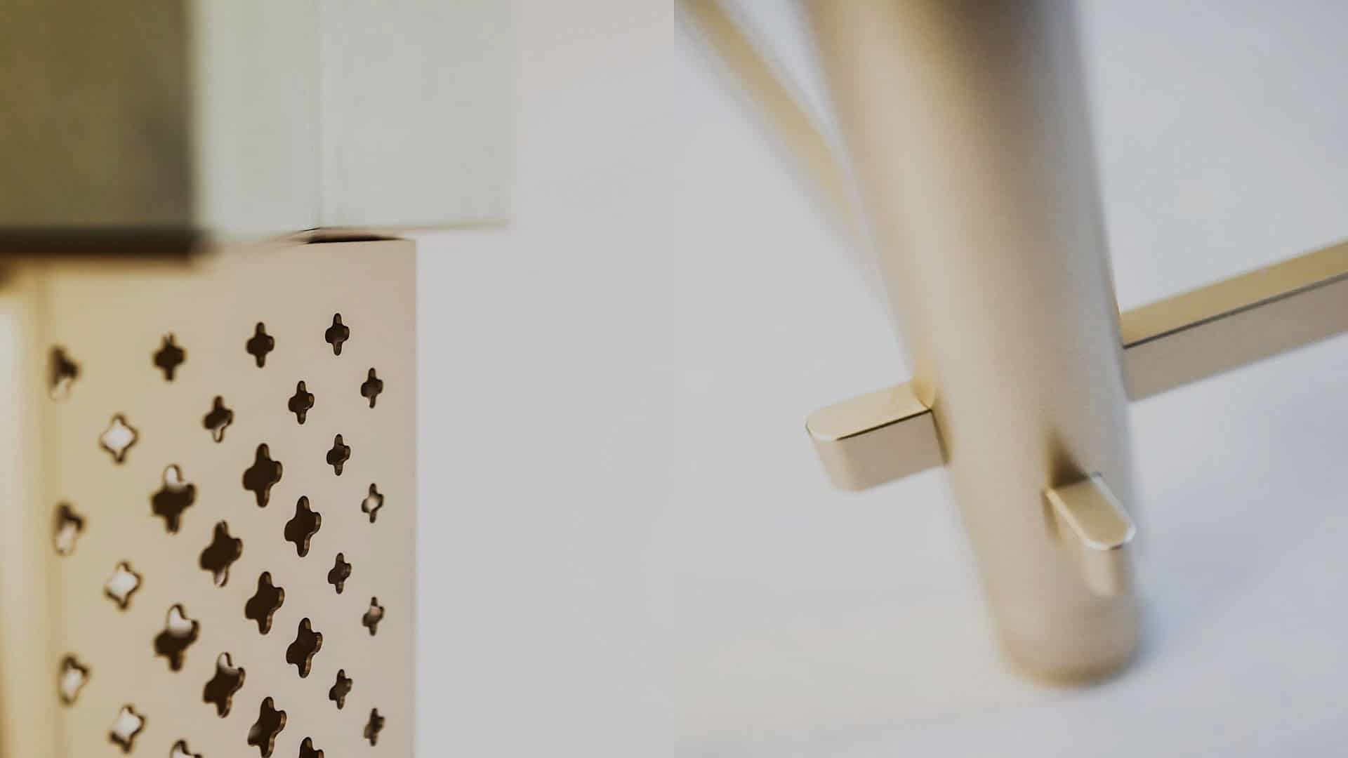 Dettaglio tavolo di lusso Antes Design