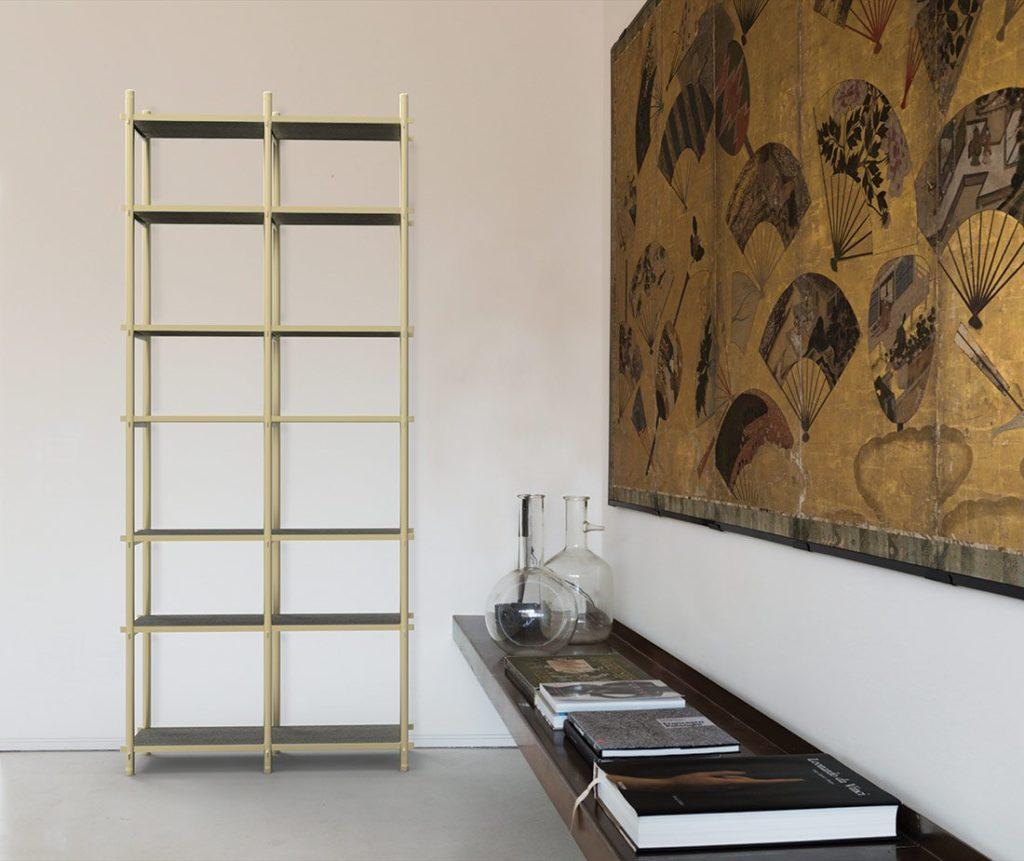 Samir libreria modulare mobili di lusso Antes Design