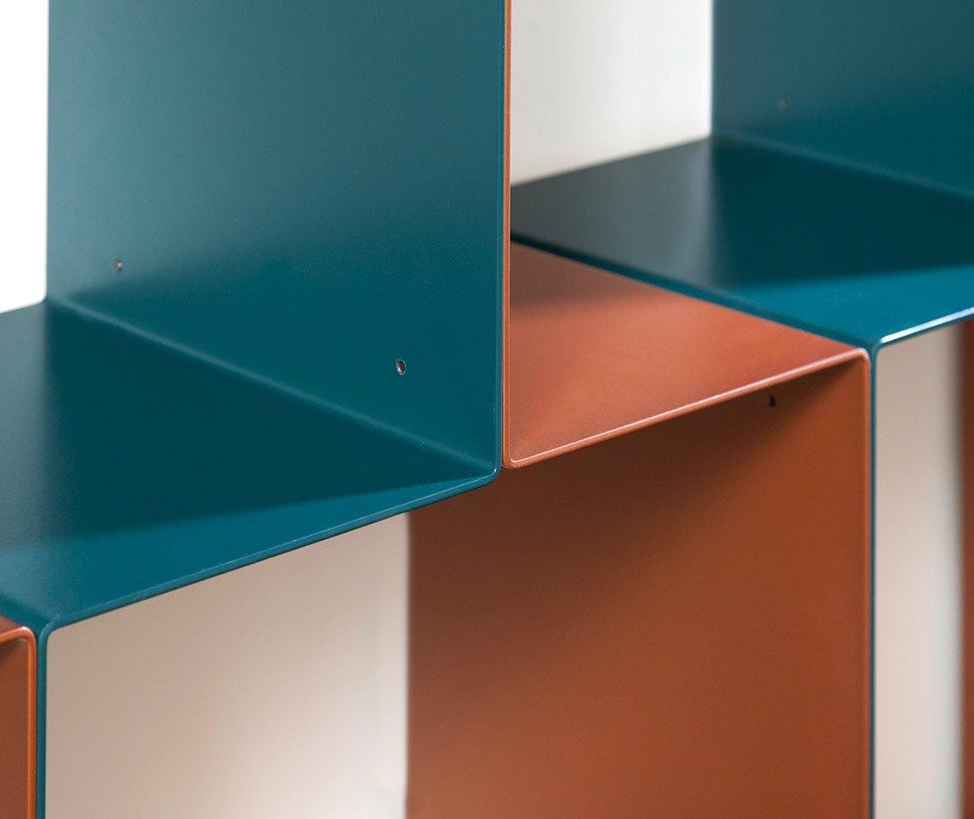 Dettaglio libreria Seventies mobili di lusso Antes Design