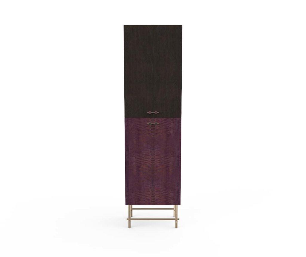 Mobile contenitore sarita cabinet doppio colore