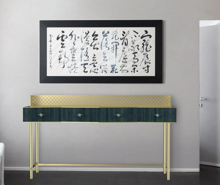 Consolle in legno mobili di lusso Antes Design