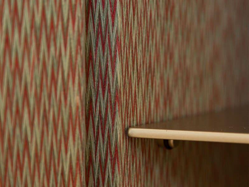 Interno mobili contenitori effetto tessuto per mobili di lusso