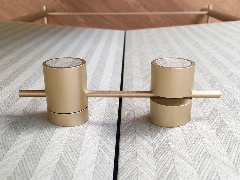 Maniglia mobili contenitori calibrata gioiello per mobili di lusso