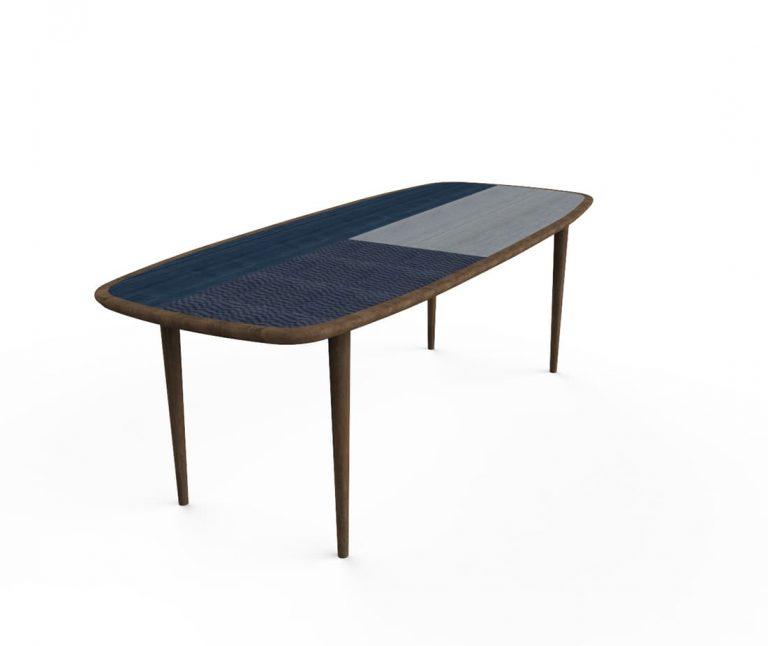 Kanan Tavolo blu Antes Design