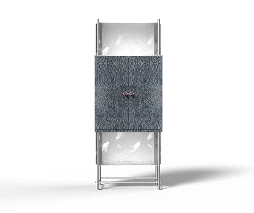 Samsara Koi Antes Design Mobile Contenitore